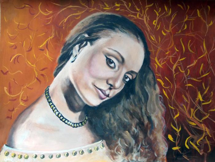 Хатуна портрет №3 | Author: Юлия