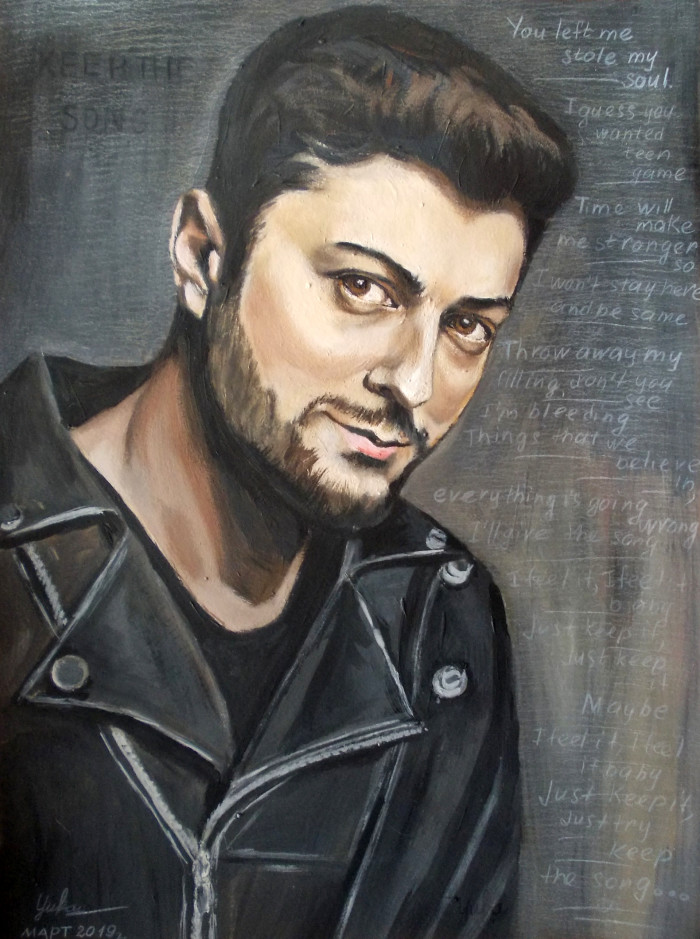 Гиорги Чиковани портрет №15 | Author: Юлия