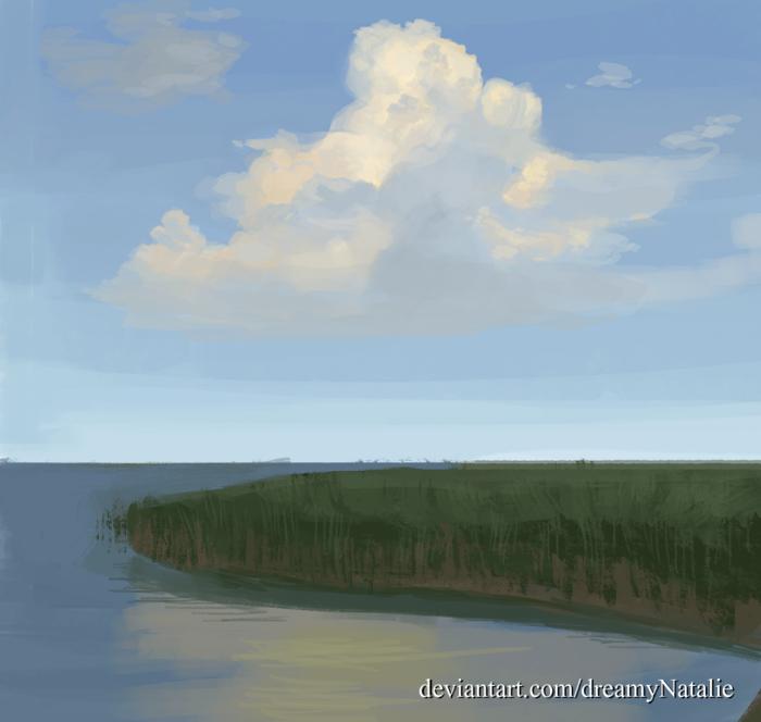 Набросок облака, стадик.  | Author: DreamyNatalie