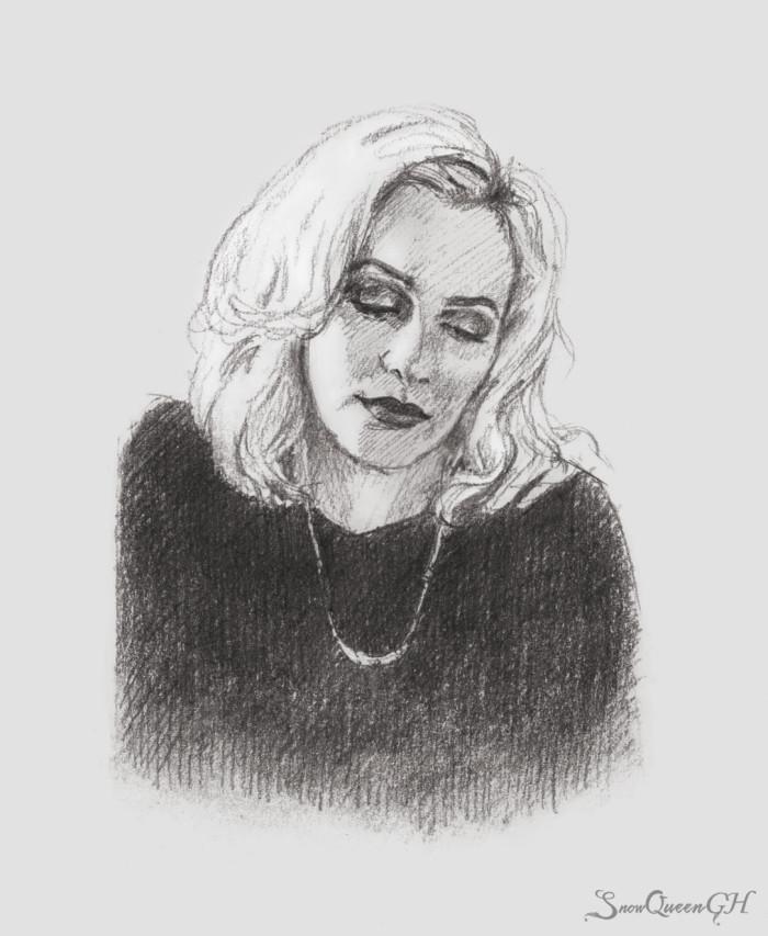 [ пока есть время ]  ~~~~~~~~~~~~~~~~~~~~~~~~~~~~  #sketch #скетч #portrait #портрет #leightonmeester #лейтонмистер | Author: SnowQueenGH
