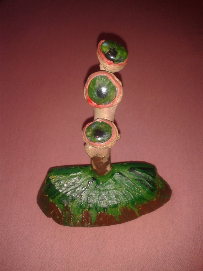 Глазные яблоки (дерево, этал, стекло) | Author: Алексей Макаревич
