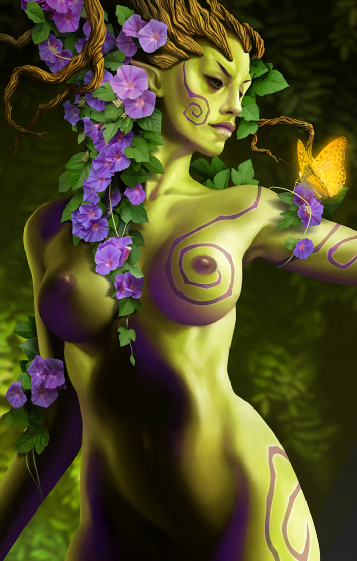 #Werlioka #dryad #fantasy #photomanipulation | Author: Werlioka