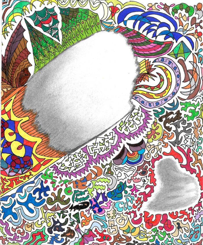 что то непонятное вииии #patterns #colors | Author: София Лукачева