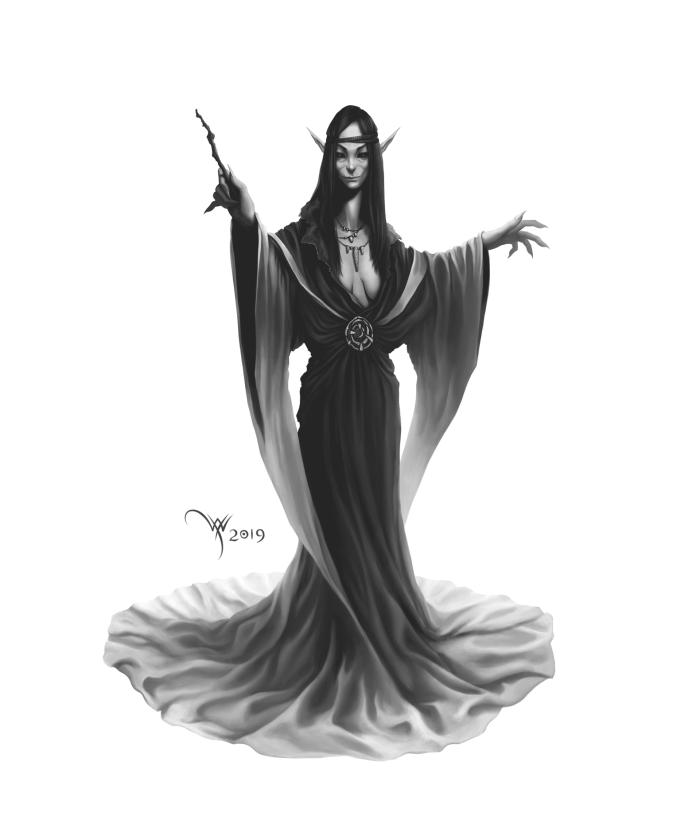 «Лесная ведьма»  #Werlioka #witch #fantasy | Author: Werlioka