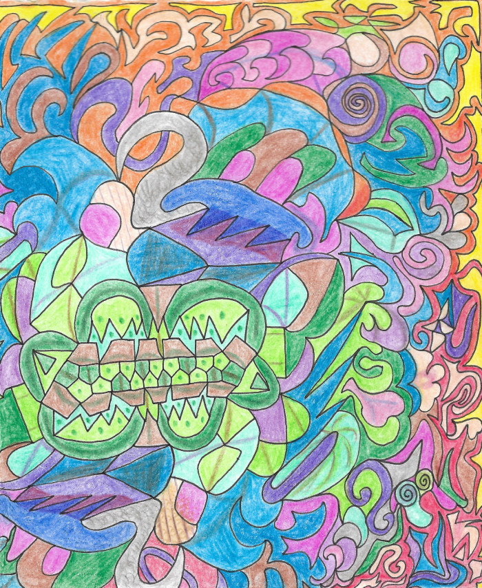 #patterns #colors | Author: София Лукачева
