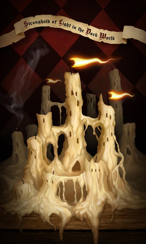 Stronghold of Light in the Dark World  #Werlioka | Author: Werlioka