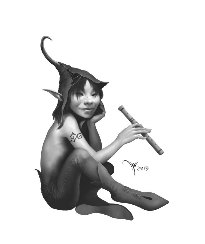 Робин Добрый Малый  #Werlioka #digital_art #fantasy | Author: Werlioka