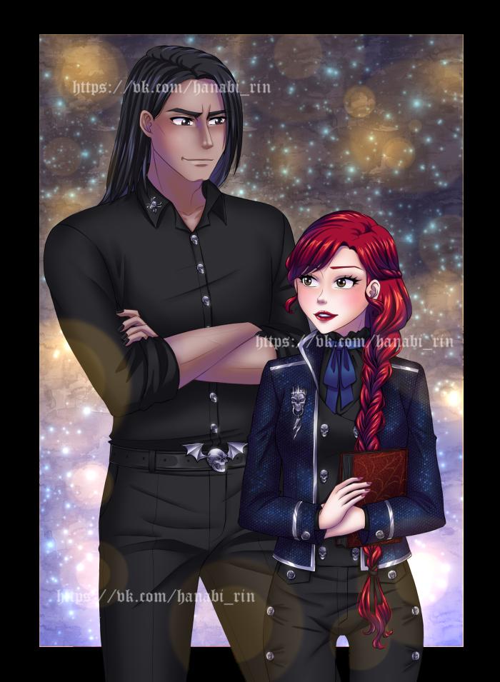 Риан Тьер и Дэя Риате/Тьер.  | Author: Hanabi-Rin