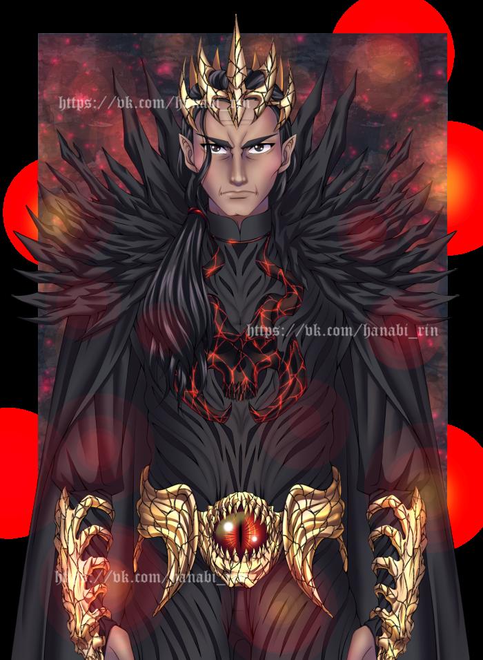 "Темный император Темной империи, Анаргар Анаргат.  Персонаж ""Академии проклятий"" | Author: Hanabi-Rin"