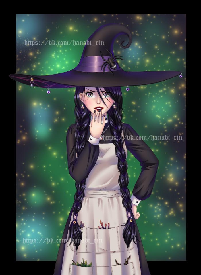 "Ведьмочка Любава. Персонаж ""Мой личный враг"". | Author: Hanabi-Rin"