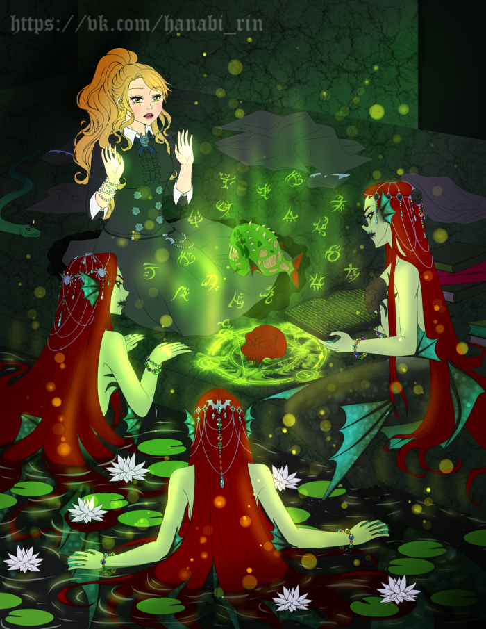 Моя фантазия по Темной империи.  | Author: Hanabi-Rin
