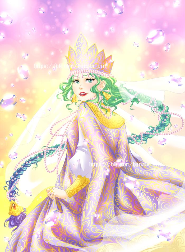 Морская царевна)  | Author: Hanabi-Rin