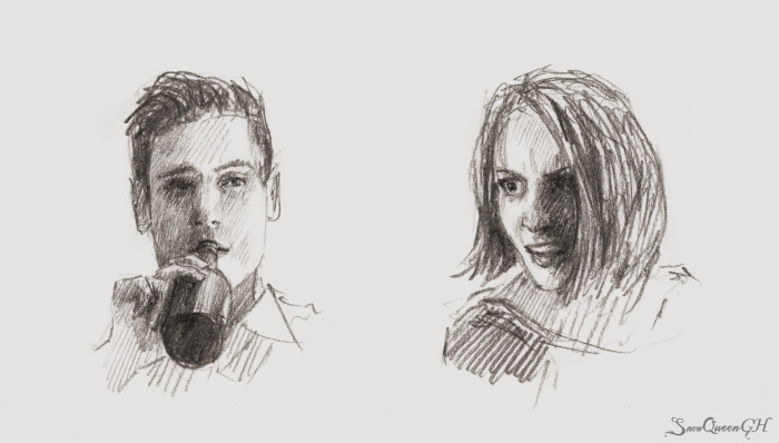 [ День 21-22: drunken / rage ]  ~~~~~~~~~~~~~~~~~~~~~~~~~~~~  #sketchtember #sketchtember2019 #sketch #скетч | Author: SnowQueenGH
