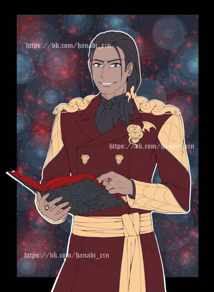 Рдаэн Тьер, отец Риана Тьера супруг Тангирры Тьер. | Author: Hanabi-Rin