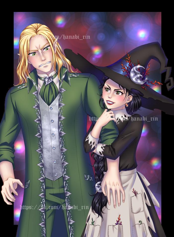 Рогда и Эльф))) | Author: Hanabi-Rin