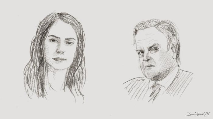 [ День 27-28: suspicious / snobby ]  ~~~~~~~~~~~~~~~~~~~~~~~~~~~~  #sketchtember #sketchtember2019 #sketch #скетч  | Author: SnowQueenGH