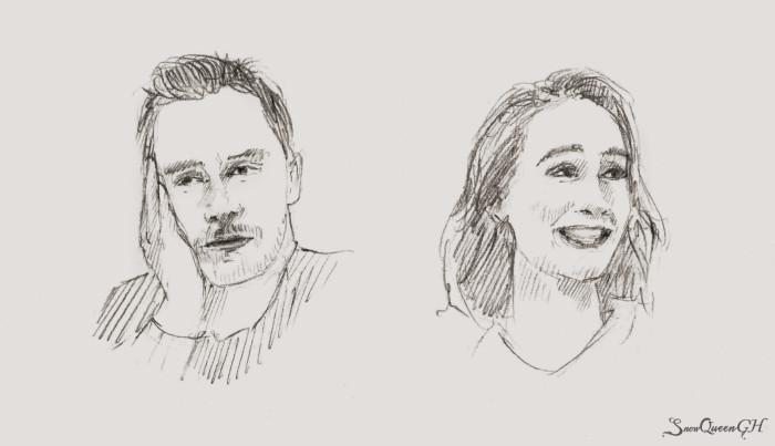 [ День 29-30: bored / excited ]  ~~~~~~~~~~~~~~~~~~~~~~~~~~~~  #sketchtember #sketchtember2019 #sketch #скетч | Author: SnowQueenGH