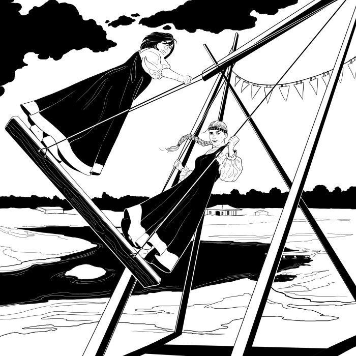 Inktober #9 | Author: Deidg