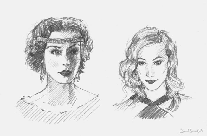 [ скетчи рандомных дам с тв и одной архитекторши ]  ~~~~~~~~~~~~~~~~~~~~~~~~~~~~  #sketch #скетч    Author: SnowQueenGH