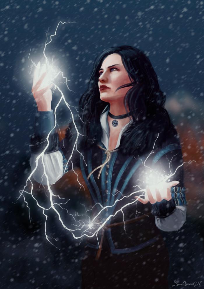 [ возвращаемся к истокам ]  ~~~~~~~~~~~~~~~~~~~~~~~~~~~~  #yennefer #thewitcher #thewitcher3wildhunt #йеннифэр #gamefanart    Author: SnowQueenGH