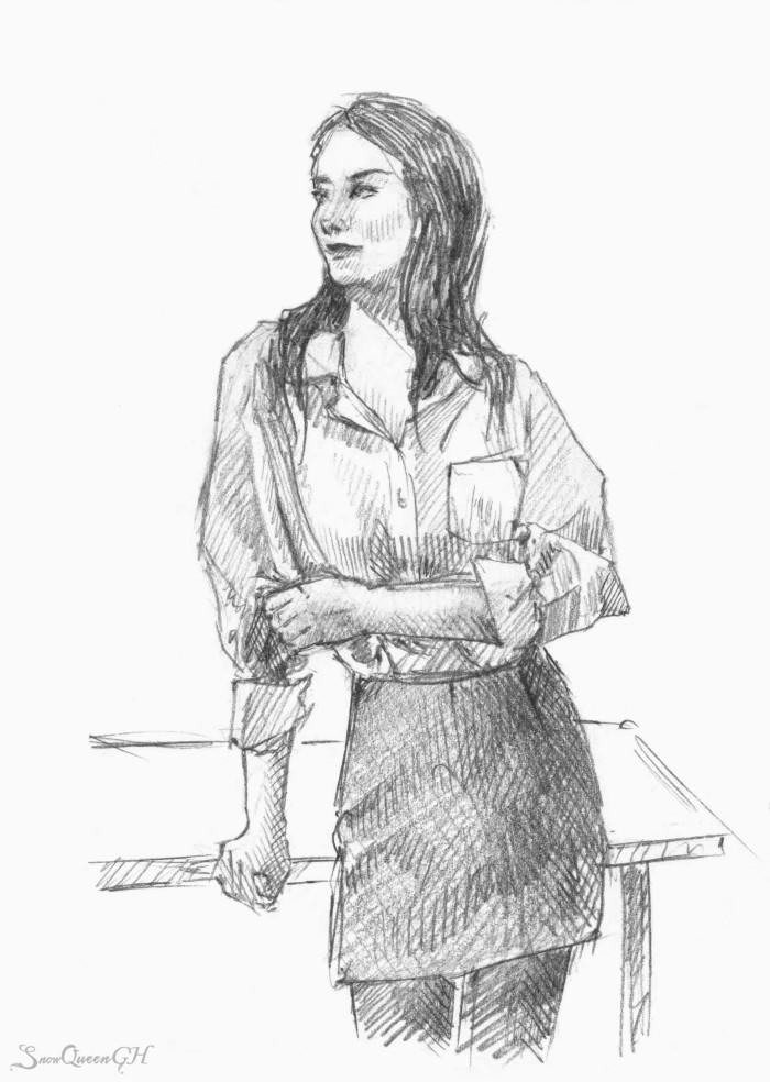 [ немного OC ] [ люблю рисовать дурацкие ситуации ]  ~~~~~~~~~~~~~~~~~~~~~~~~~~~~  #sketch #скетч    Author: SnowQueenGH