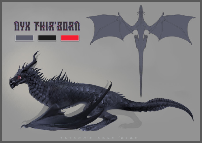 Black Dragon Ref.Sheet for Kumihobrat  This is a commission for Kumihobrat and a good example on how I make photobashing :3 I hope you like it and enjoy! :3  Thank you for commissioning me  | Author: lynx_catgirl