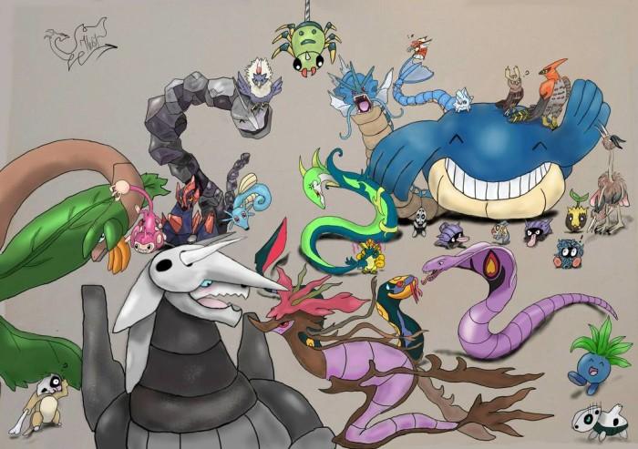 Моя команда покемошек :D  #Покемон  | Author: Полина Небоженко