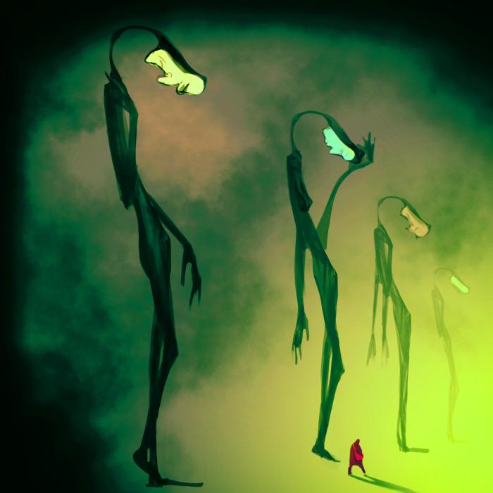 Одинокие огни. | Author: Moonrise
