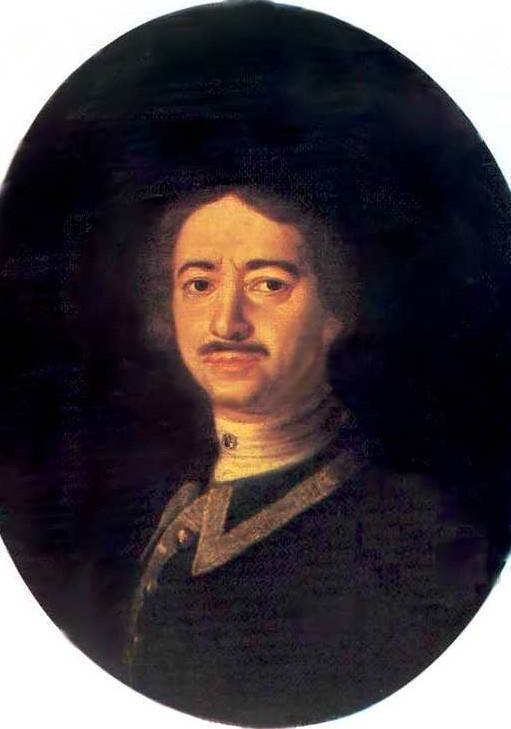 Портрет Петра I — Каравакк Луи