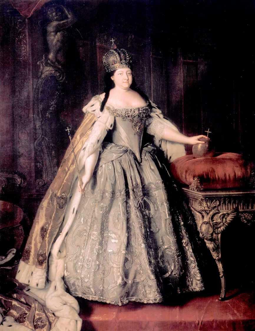 Портрет императрицы Анны Иоанновны — Каравакк Луи