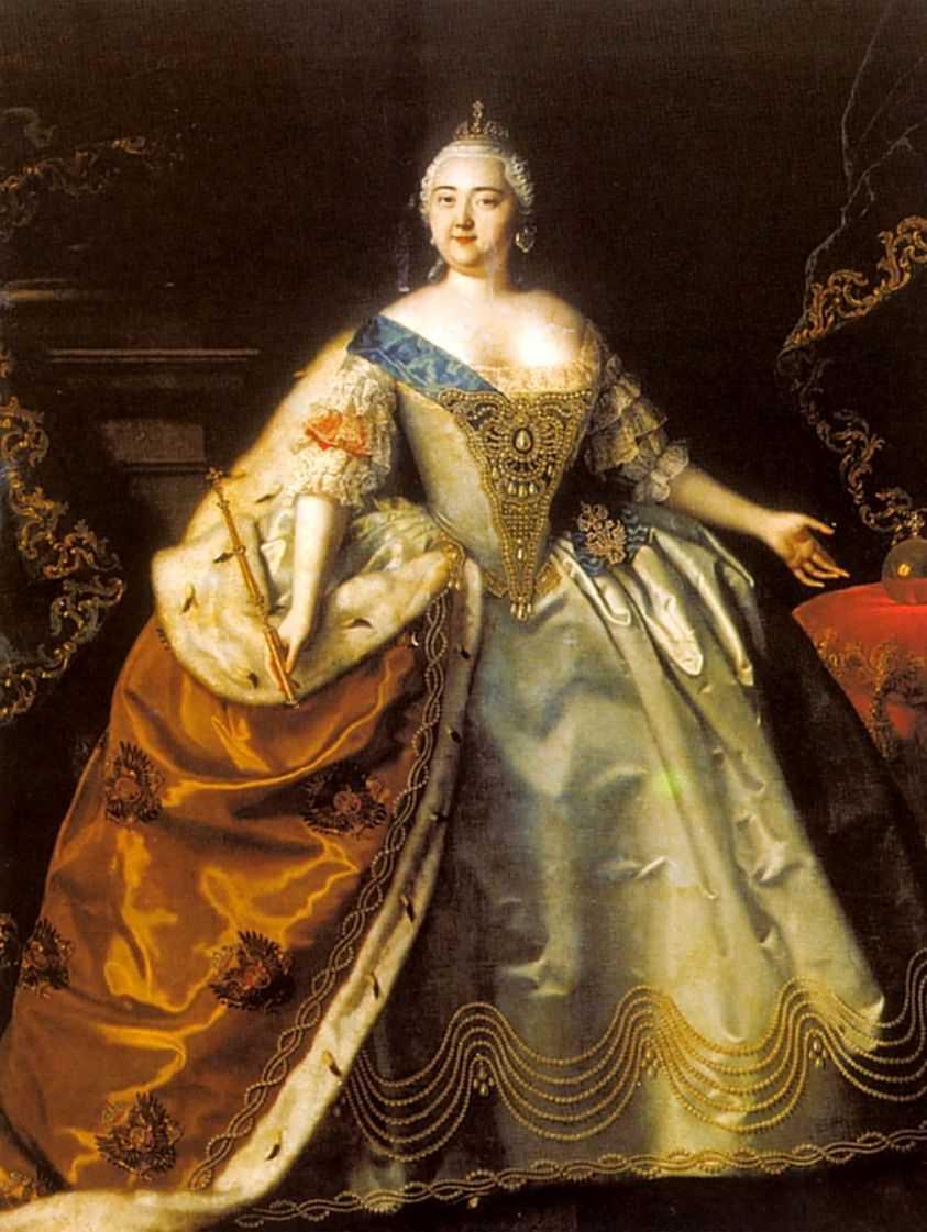 Портрет императрицы Елизаветы Петровны — Каравакк Луи