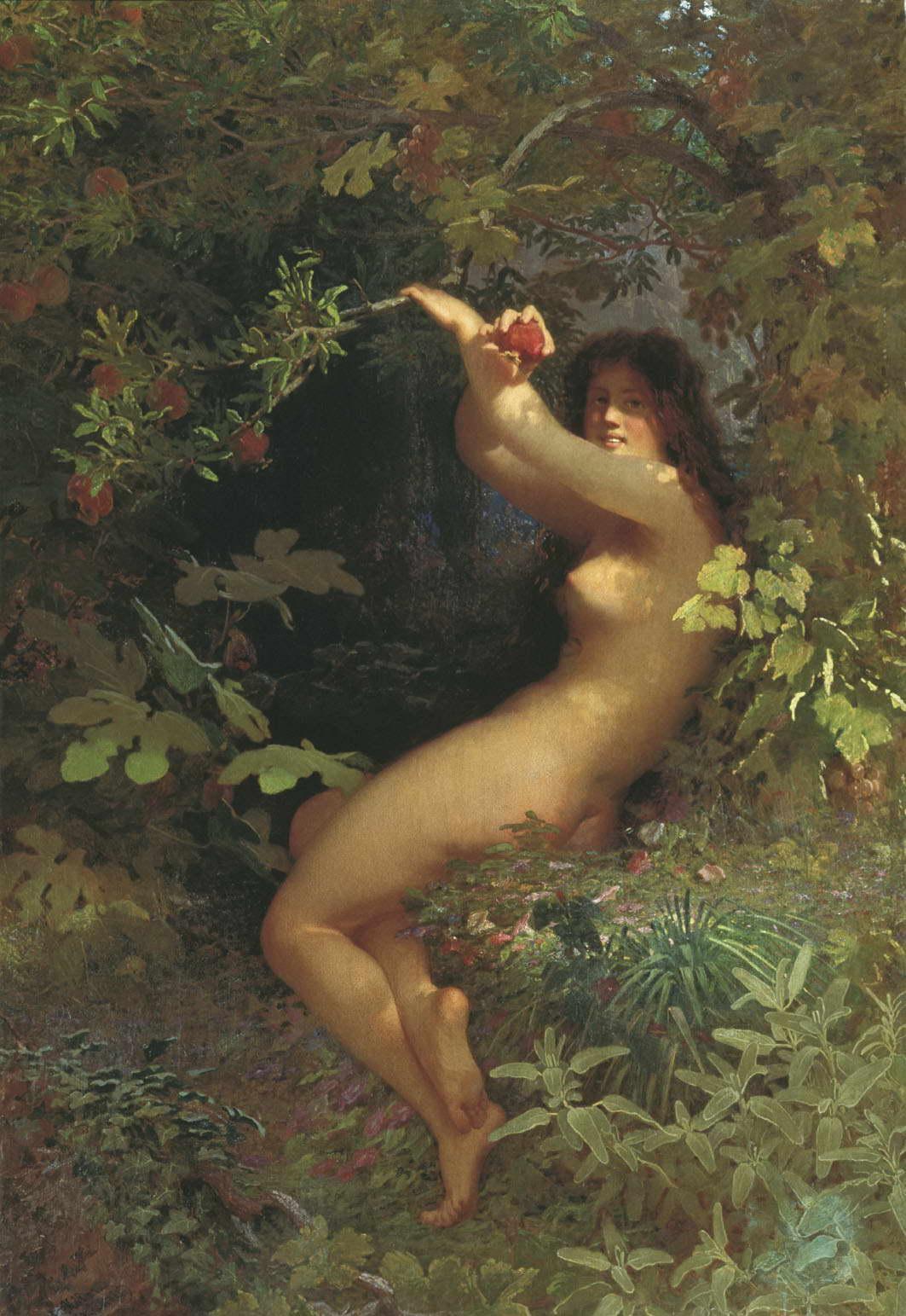 Ева с гранатом — Келер-Вилианди Иван Петрович