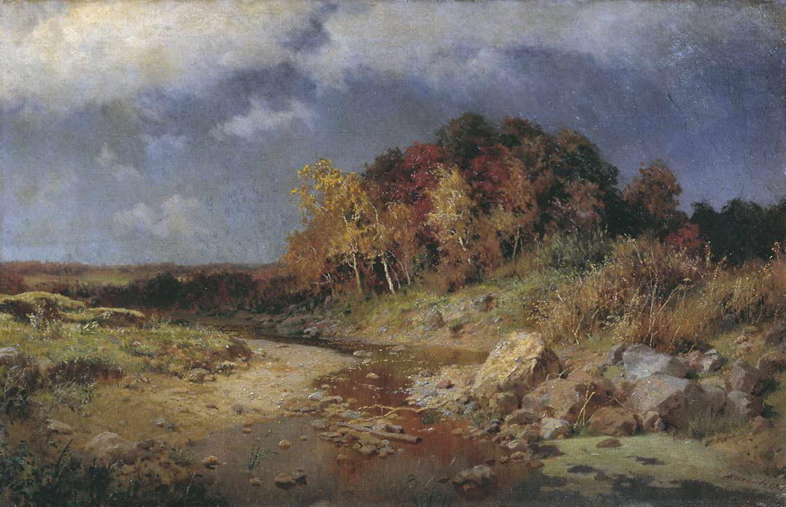 Осень. Ветреный день — Киселев Александр Александрович
