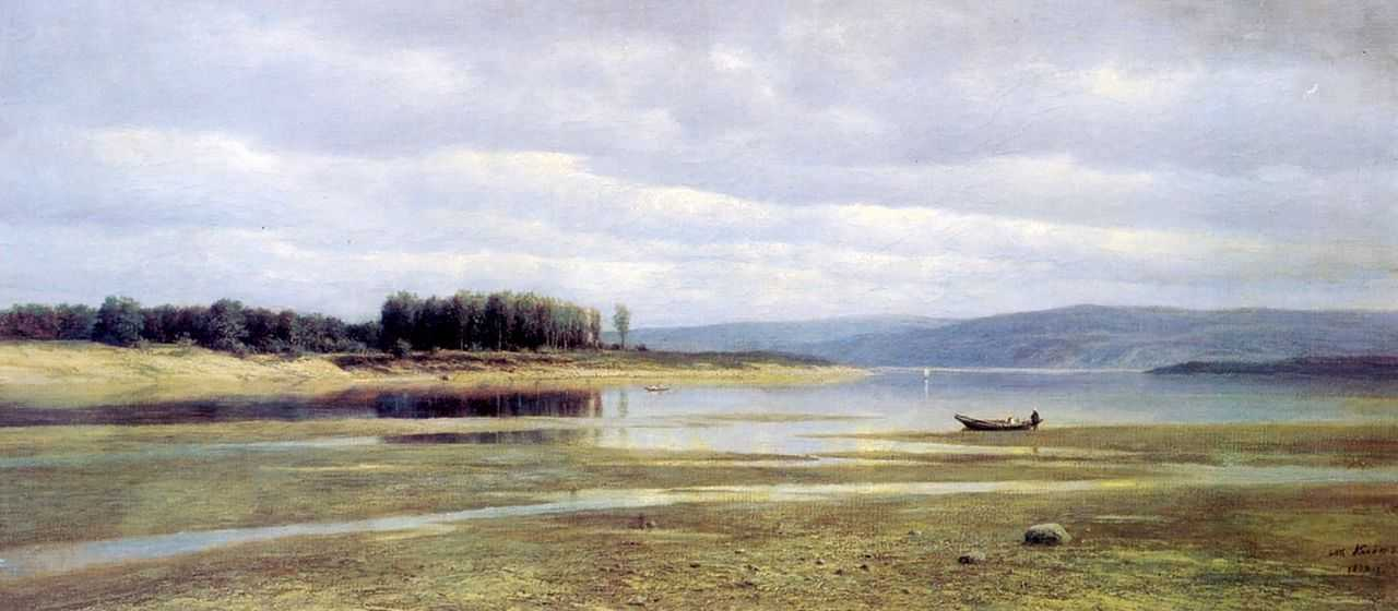 Волга у Жигулей — Клодт Михаил Константинович