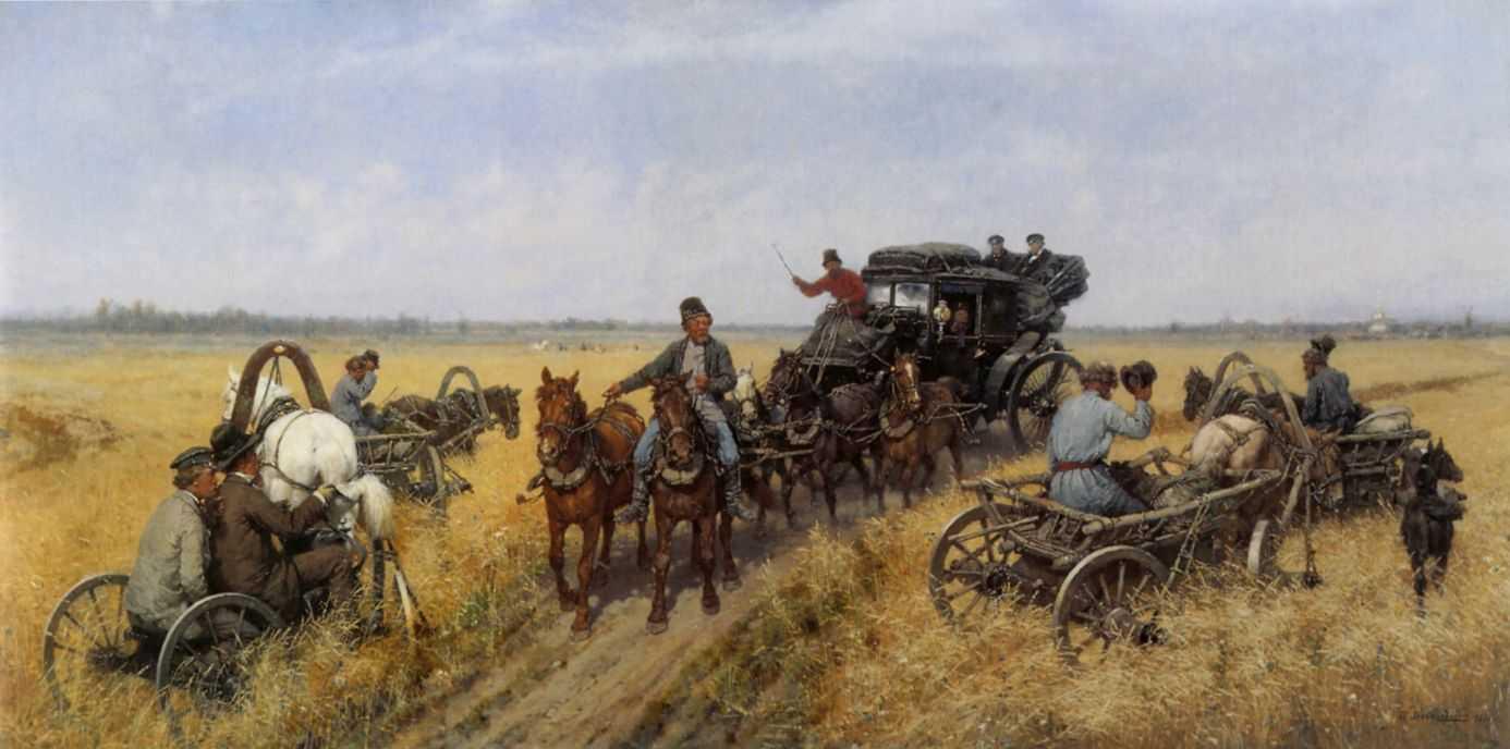 Объезд епархии — Ковалевский Павел Осипович