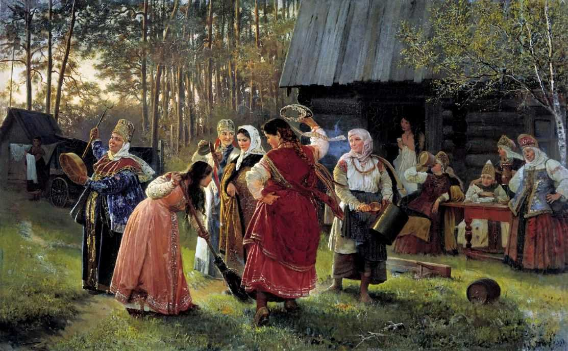 Девичник — Корзухин Алексей Иванович