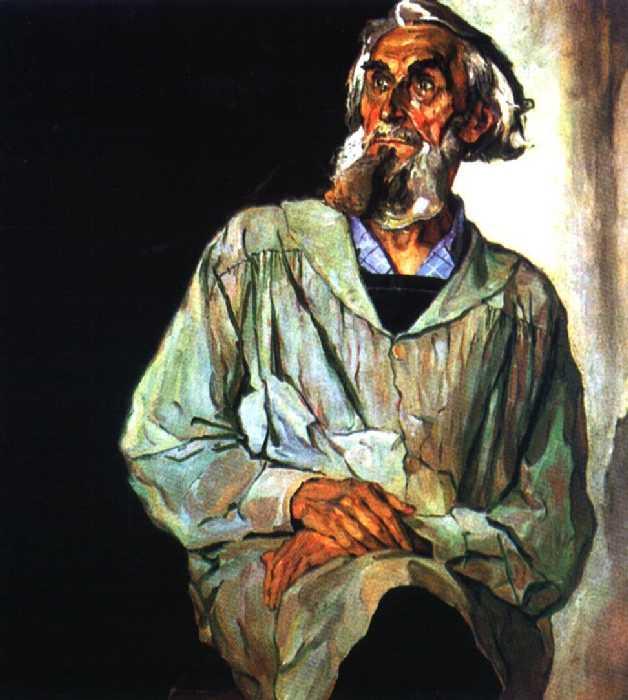 Портрет С. Т. Конёнкова — Корин Павел Дмитриевич