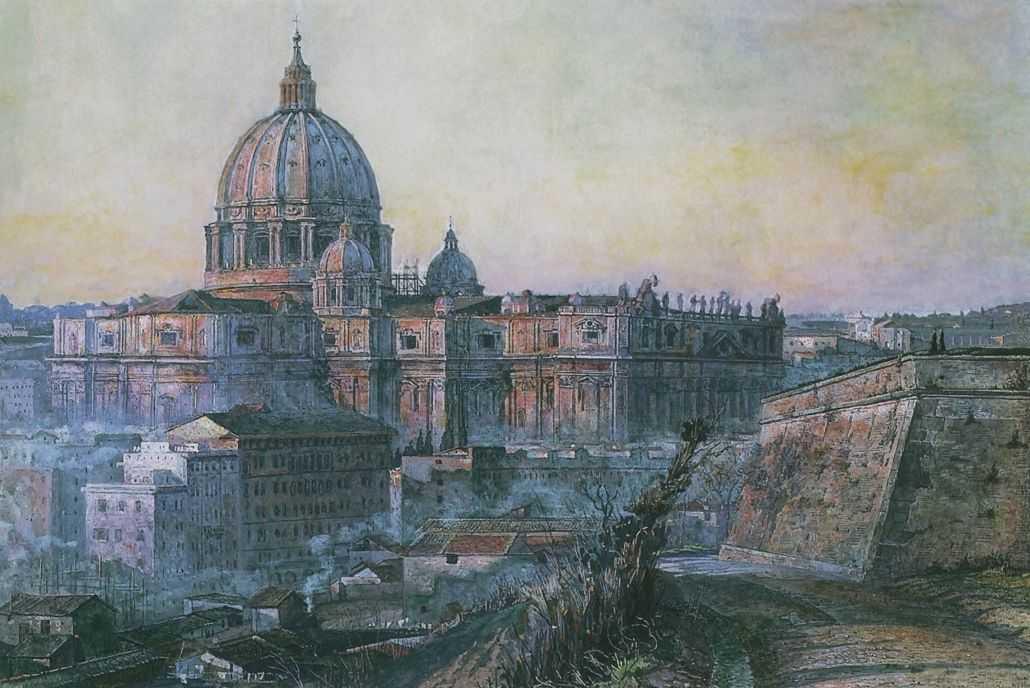 Собор Святого петра в Риме — Корин Павел Дмитриевич
