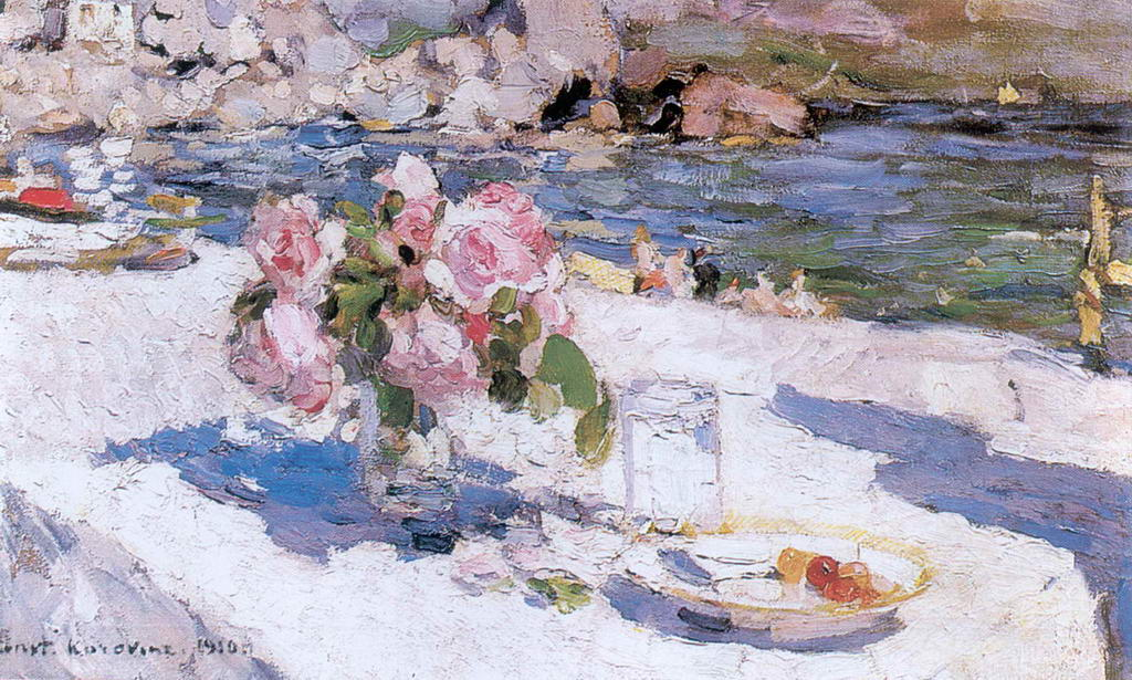 На берегу моря — Коровин Константин Алексеевич