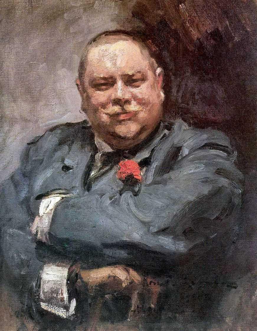 Портрет Николая Дмитриевича Чичагова — Коровин Константин Алексеевич