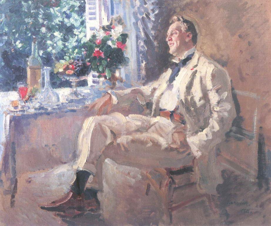 Портрет Федора Ивановича Шаляпина — Коровин Константин Алексеевич