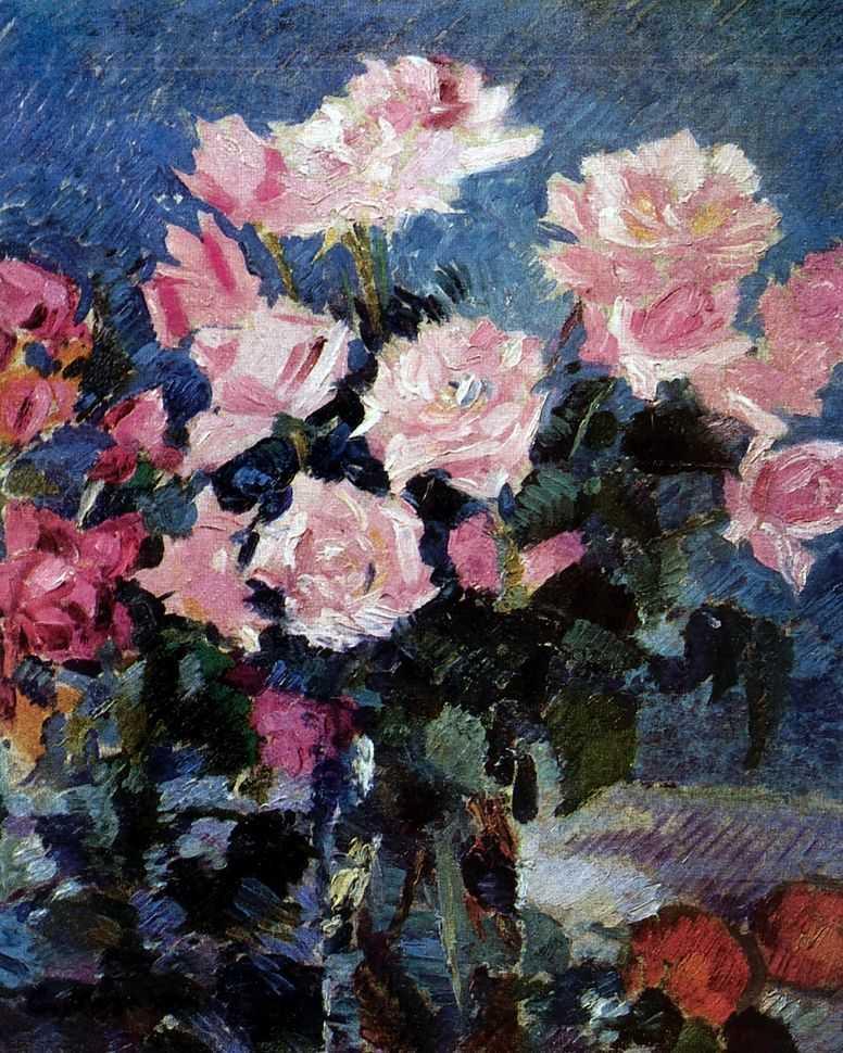 Розы 2 — Коровин Константин Алексеевич
