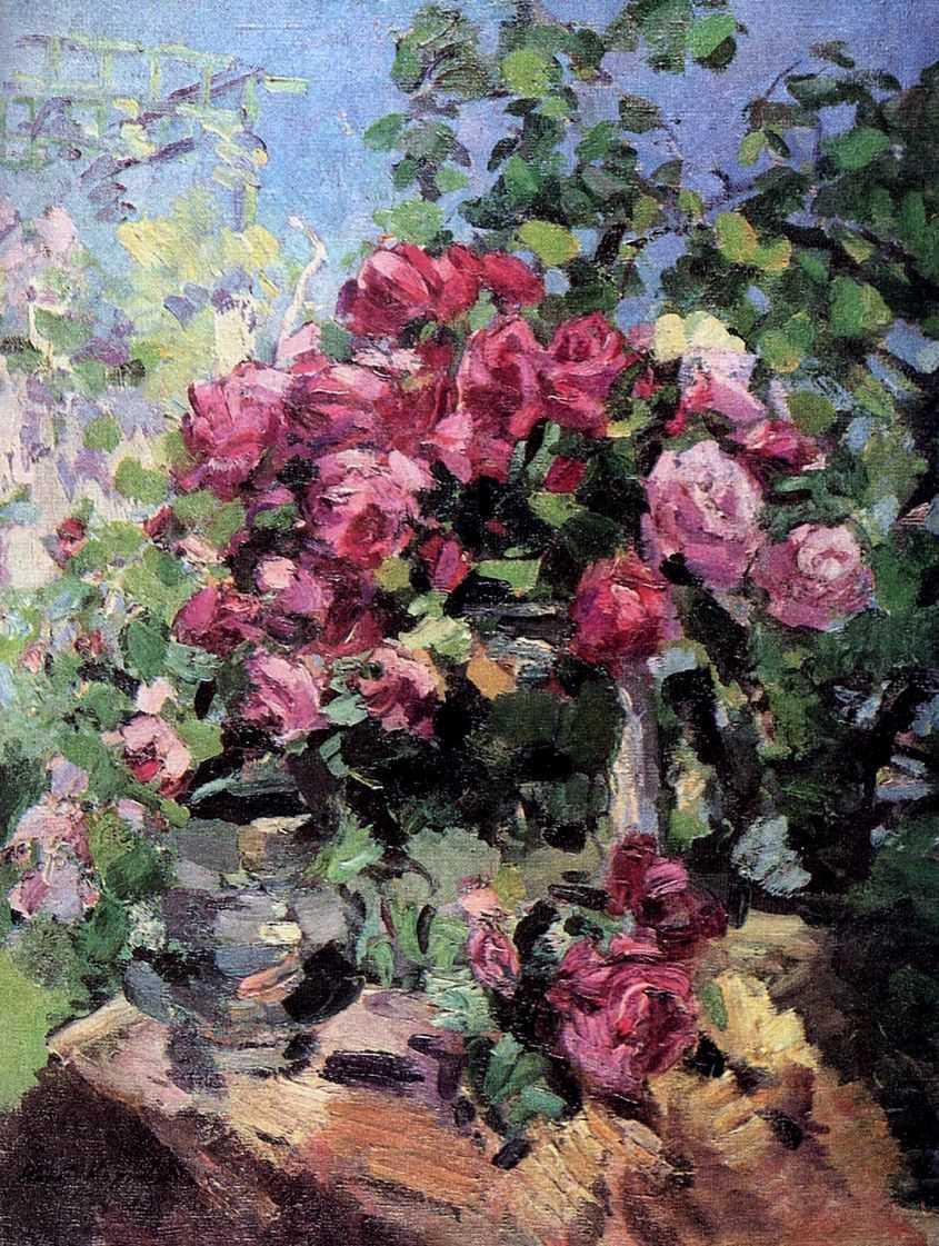 Розы — Коровин Константин Алексеевич