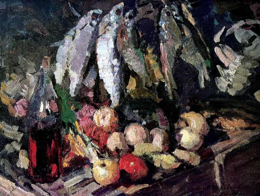 Рыбы. — Коровин Константин Алексеевич