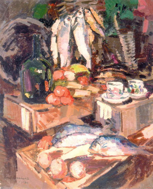 Рыбы — Коровин Константин Алексеевич