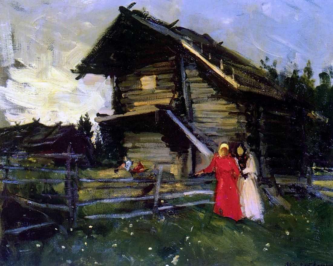 Сарай — Коровин Константин Алексеевич