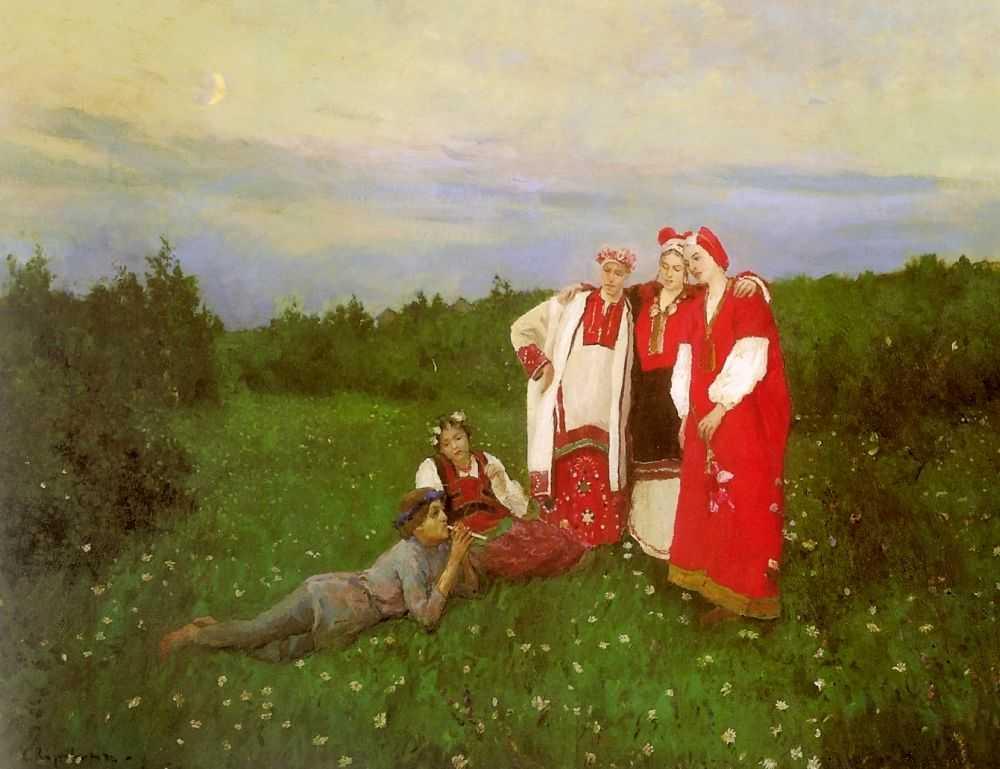 Северная идиллия 1 — Коровин Константин Алексеевич
