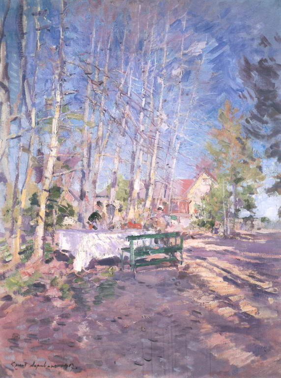 Весна — Коровин Константин Алексеевич