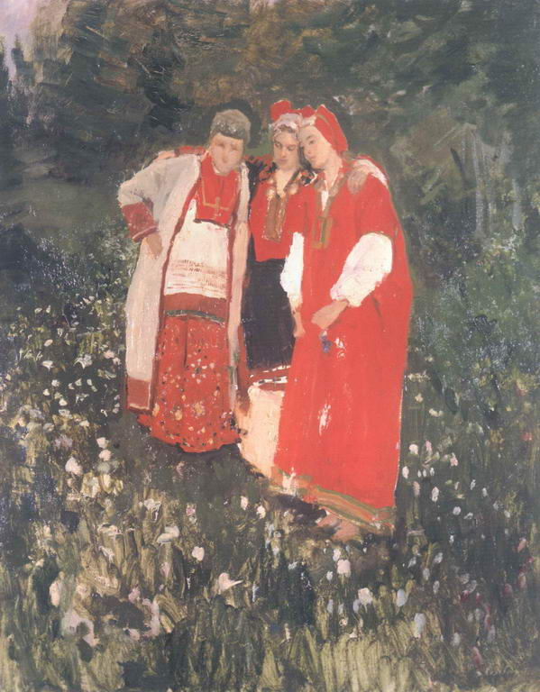 Северная идиллия — Коровин Константин Алексеевич