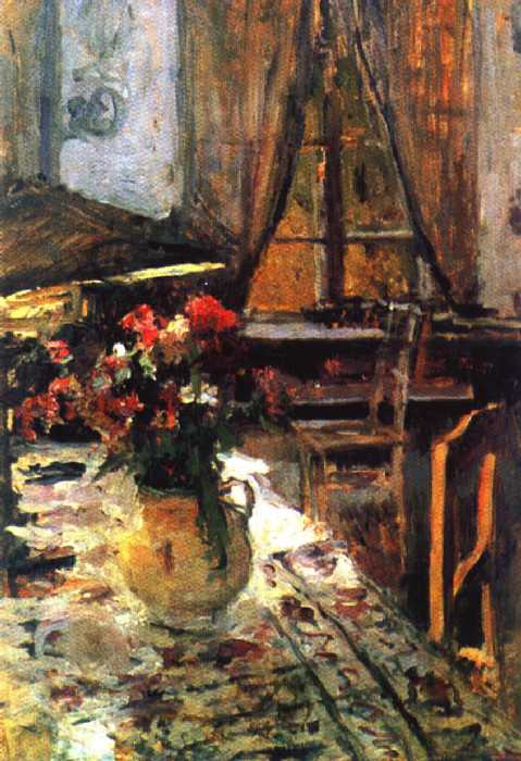 Сумерки в комнате — Коровин Константин Алексеевич